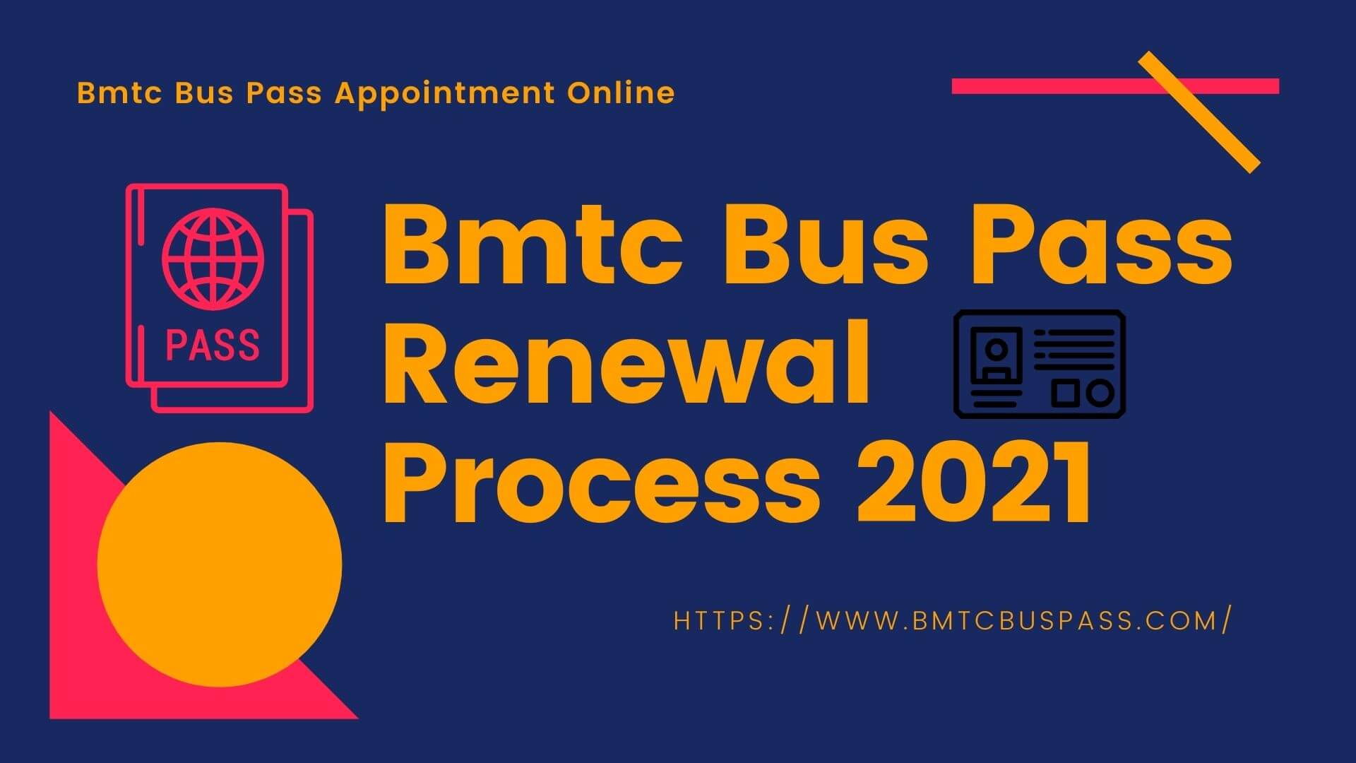 Bmtc Bus Pass Renewal And Appointment Process In 2021