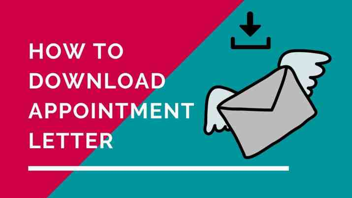 Download Appointment Letter