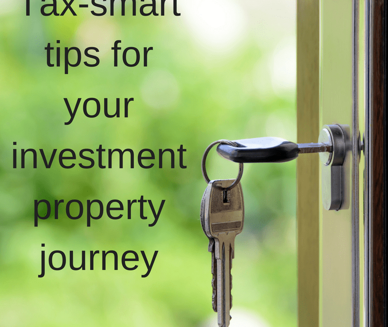 Tax-smart tips for your investment property journey