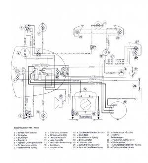 Wiring diagram R50  R69S 6V  Salis Parts Salis Parts