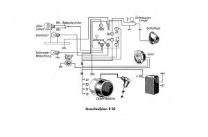 Wiring diagram R25  Salis Salis