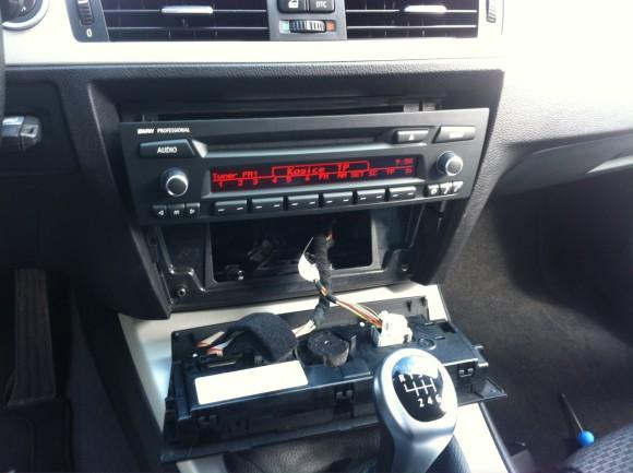 e90 radio profesional