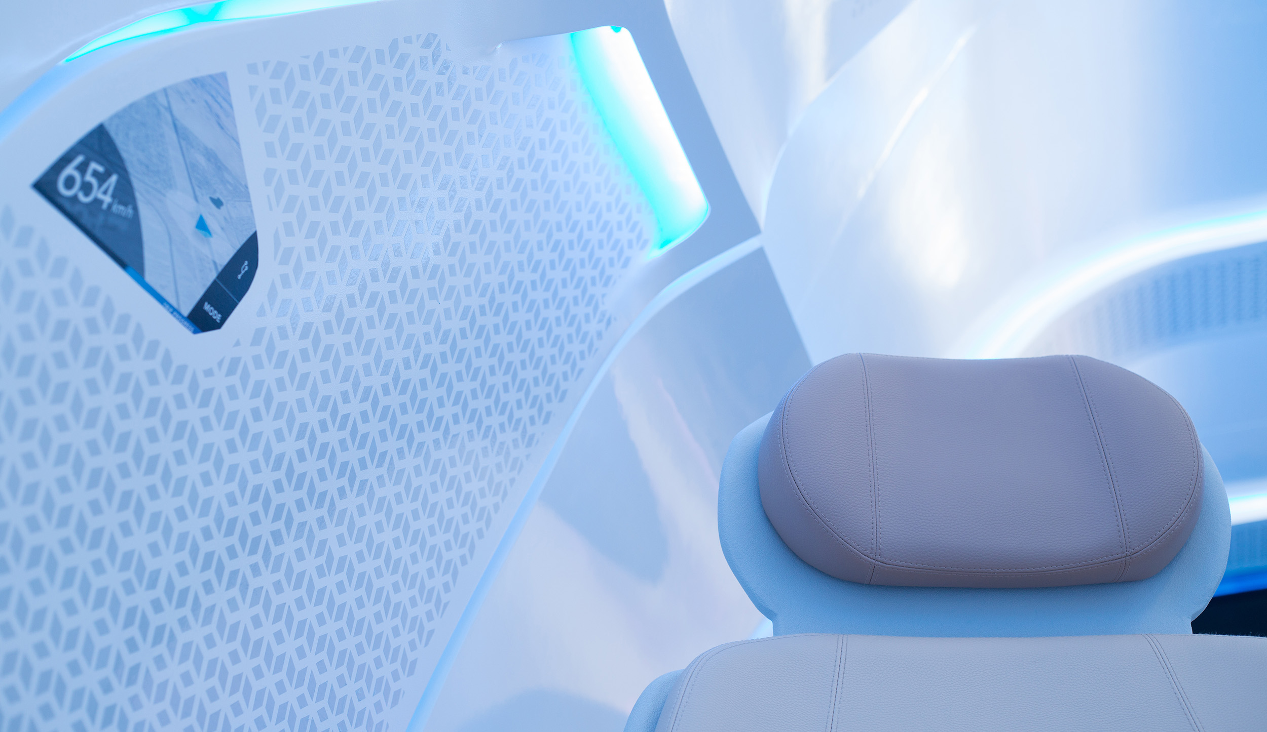 hyperloop seats close up