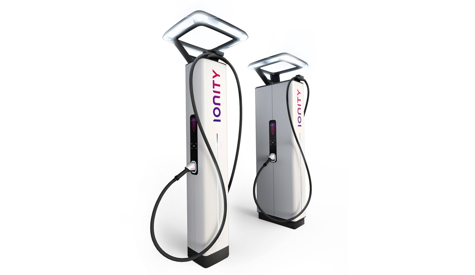 two ionity chargers