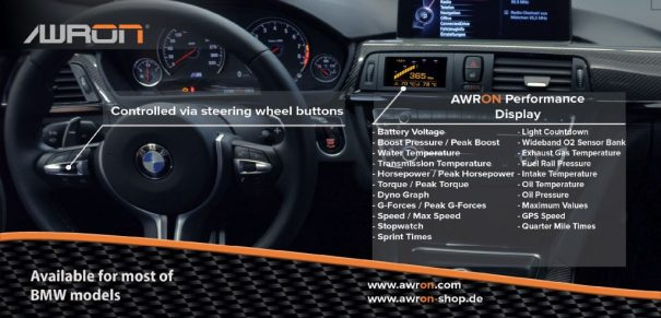 BMW Datendisplay AWRON