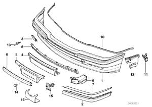 E38 bumper cover replacement?  Bimmerfest  BMW Forums
