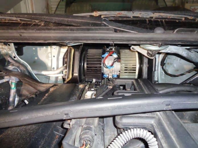 Bmw Blower Motor Resistor Location