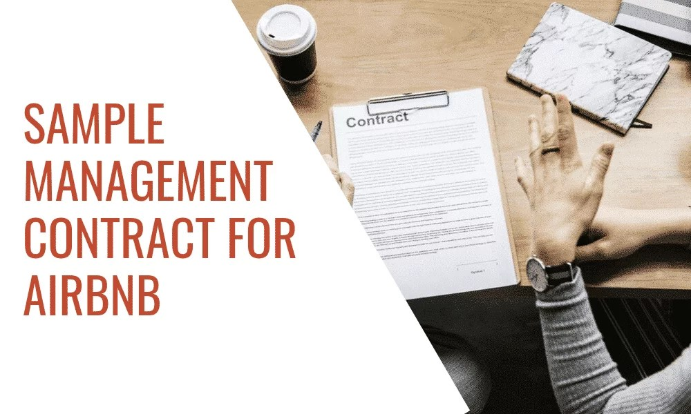 Sample Management Contract for Airbnb