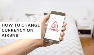 How to change currency on airbnb