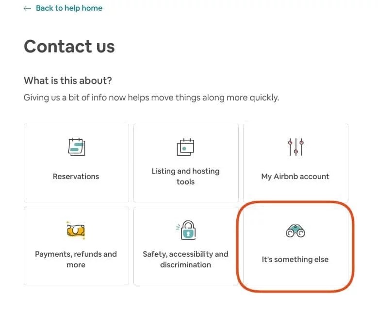 Contact Airbnb to Remove Airbnb review