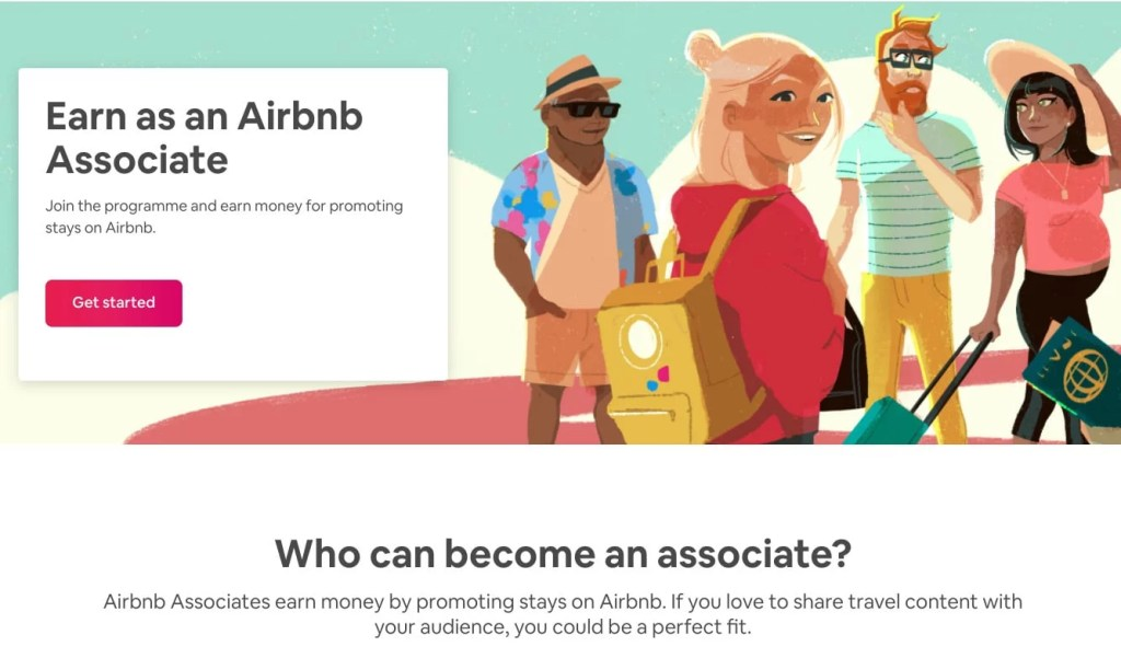 What is Airbnb associates program?