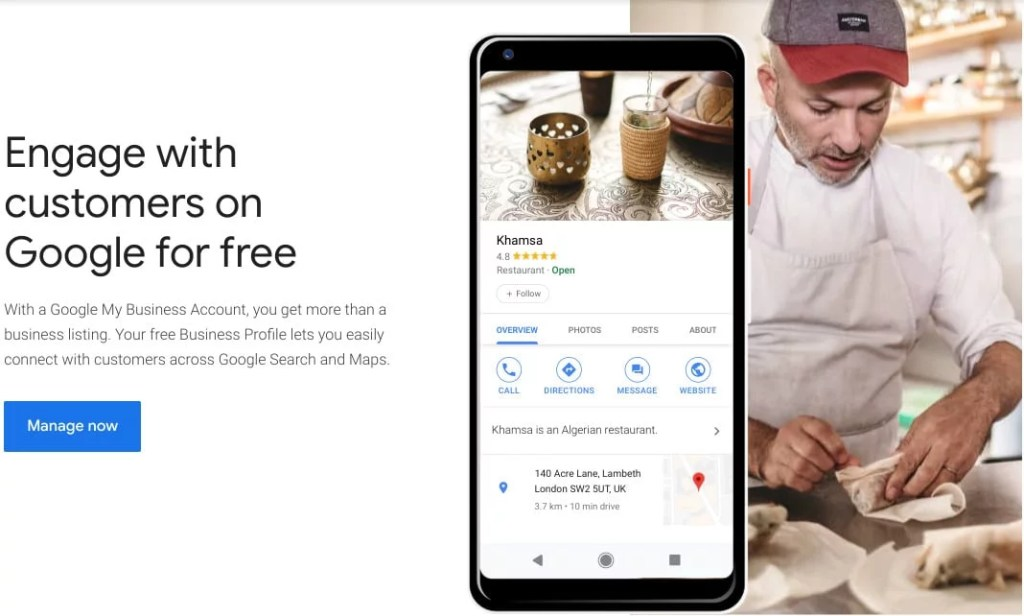 list airbnb on google my business