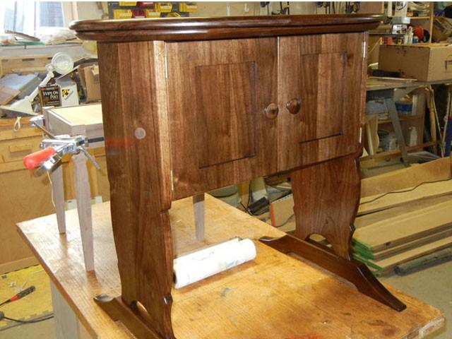 Walnut Cabinet Inset Doors