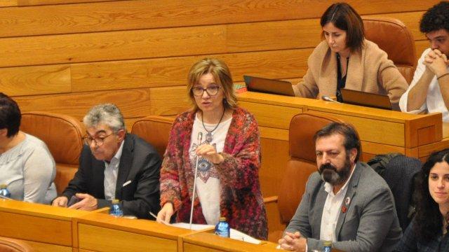 Montse Prado pregunta a Almuíña até cando van seguir poñendo en risco a saúde das galegas e galegos