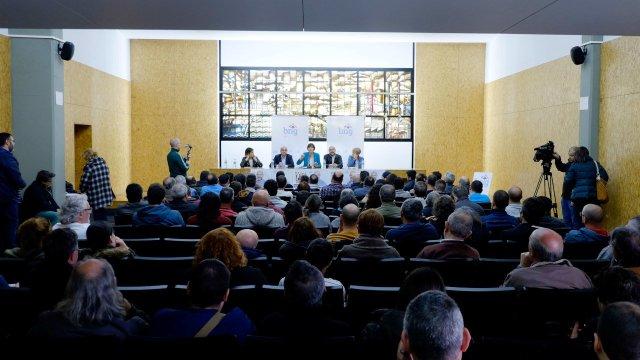 """Ana Pontón compromete que un BNG decisivo no Estado """"fará posíbel que haxa unha solución para ALCOA"""""""
