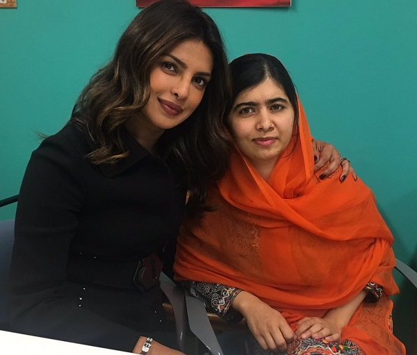 Priyanka Chopra finds a fan in the youngest Nobel Prize winner Malala Yousafzai