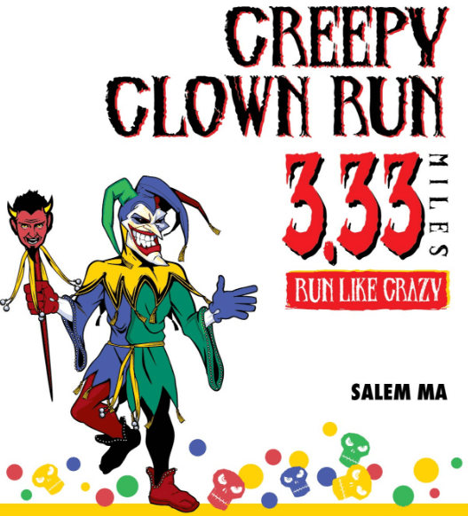 Creepy Clown 3.33 Miler