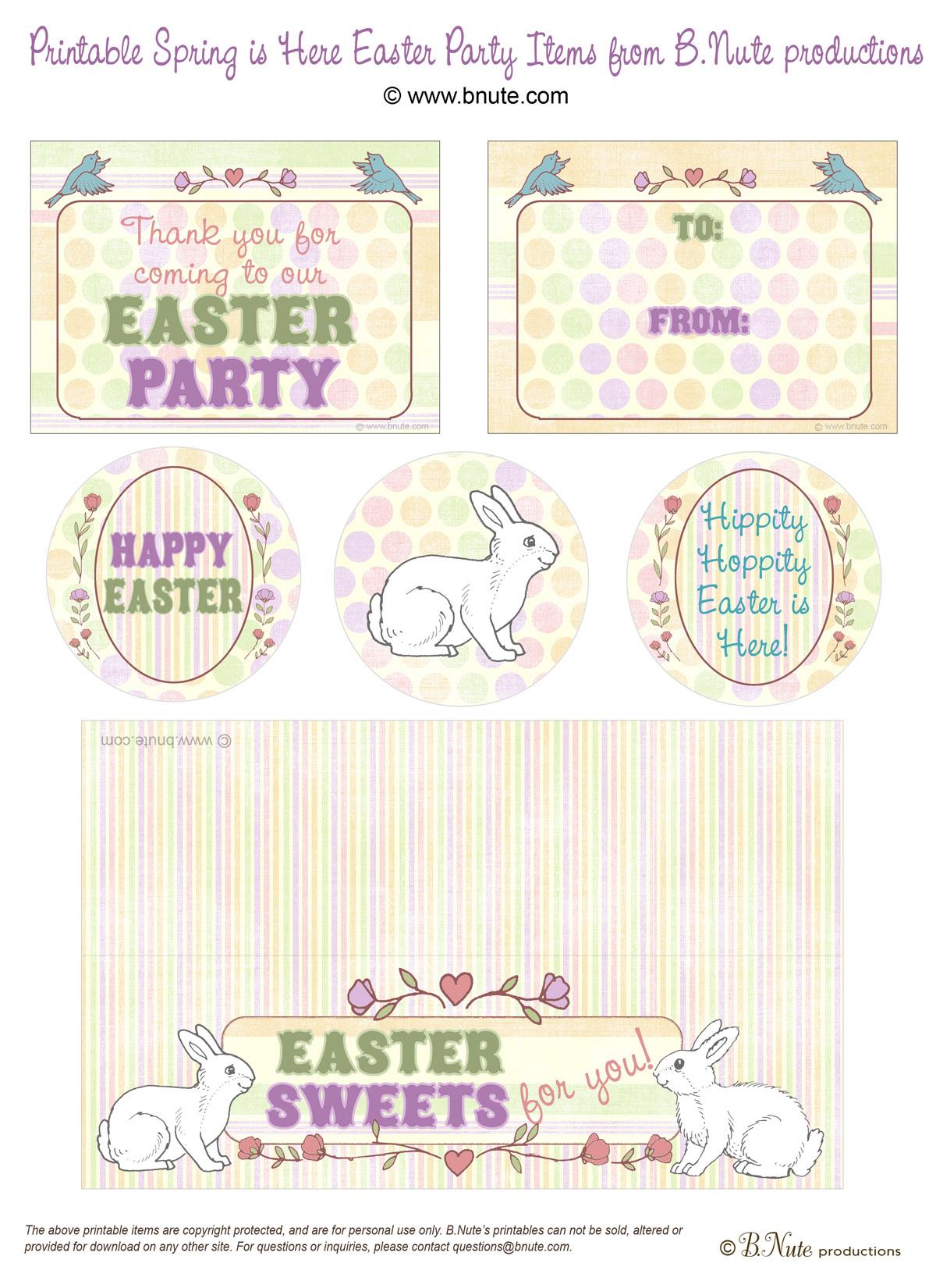 Free Easter Printable Worksheet