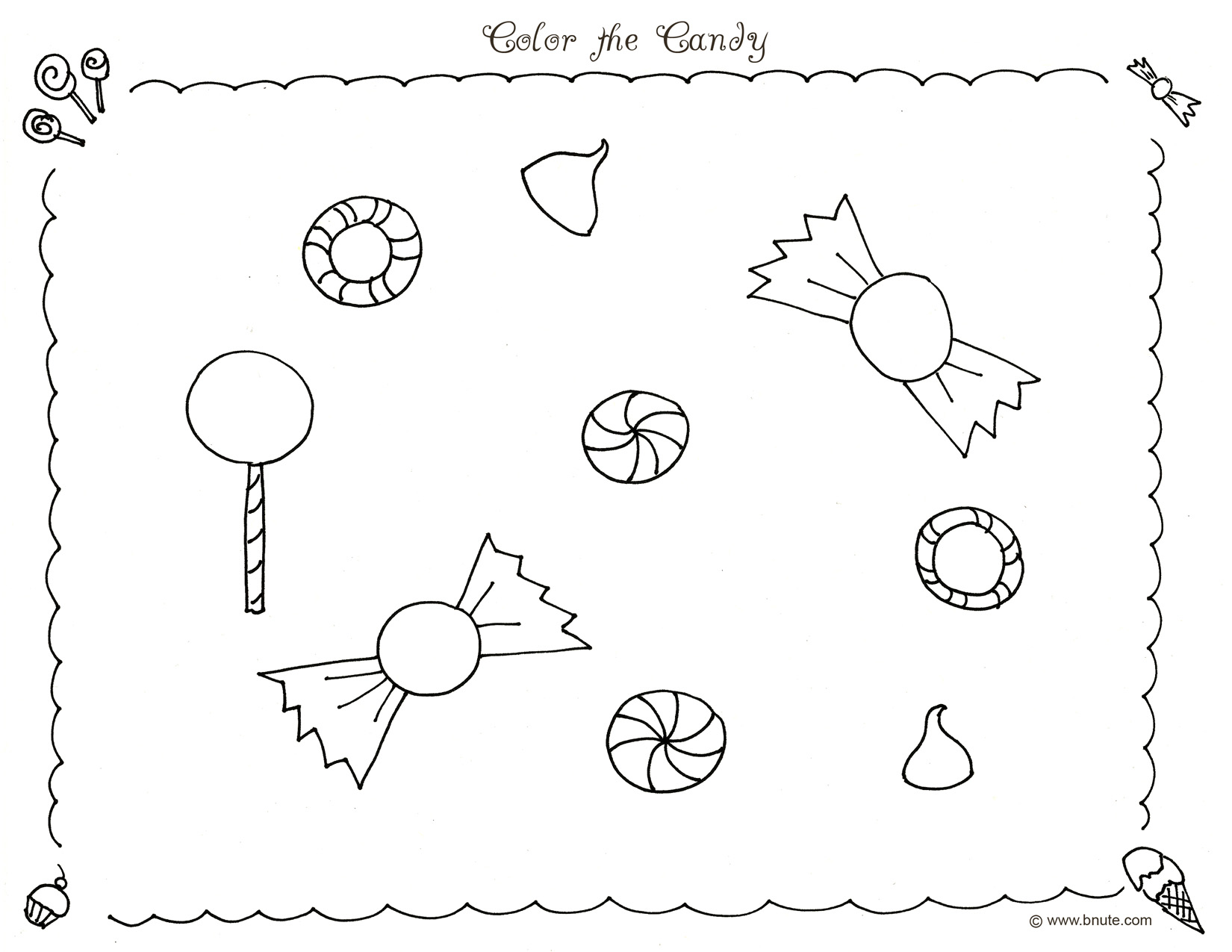 color the candy coloring page by bnute productions noddy coloring