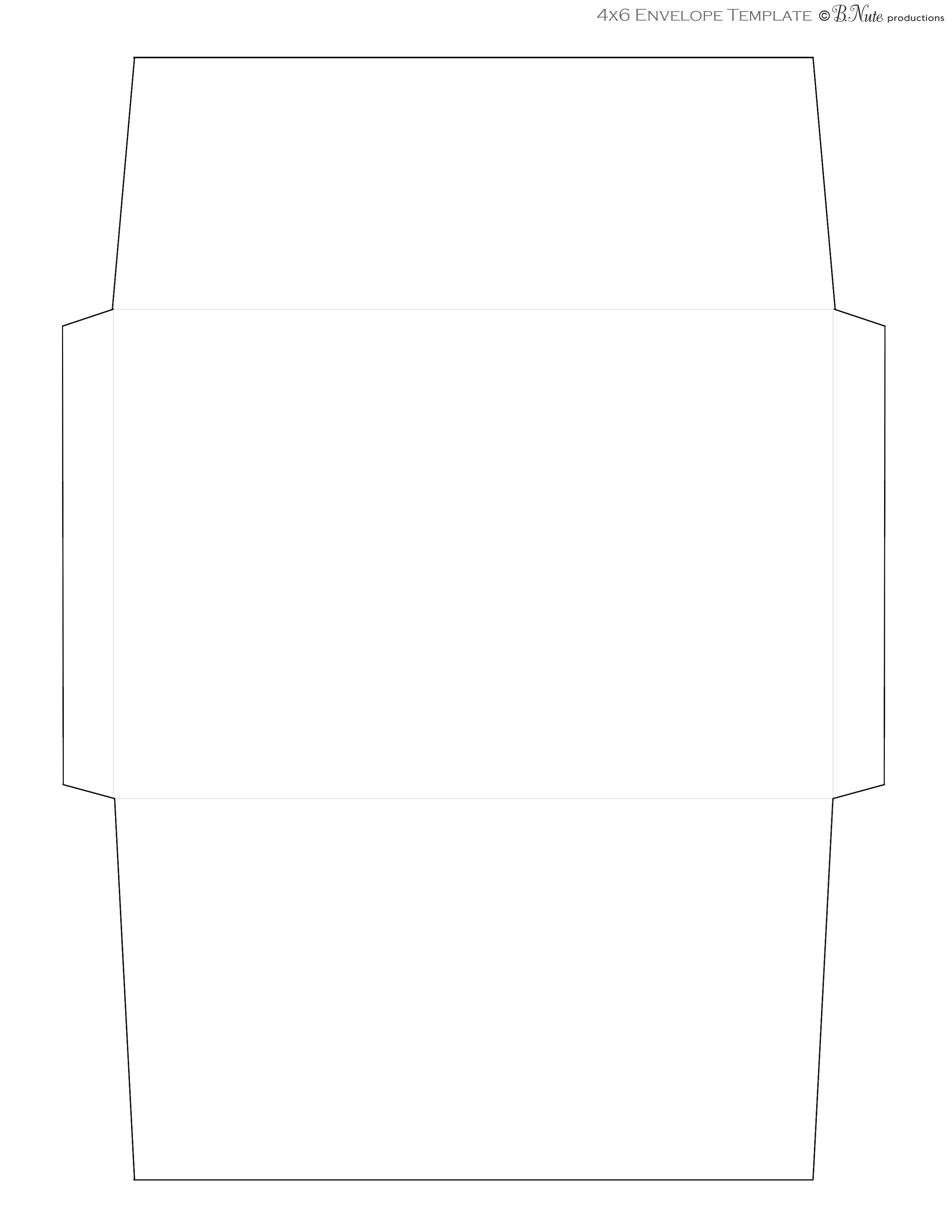 4x6 Envelope Template. teenage mutant ninja turtles birthday ...