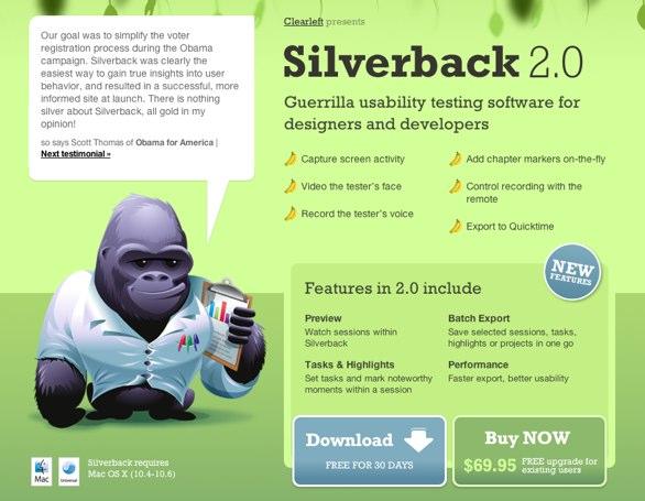 Silverbackapp.com