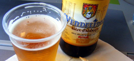 Wendelinus Abbey Beer from French brewery Meteor