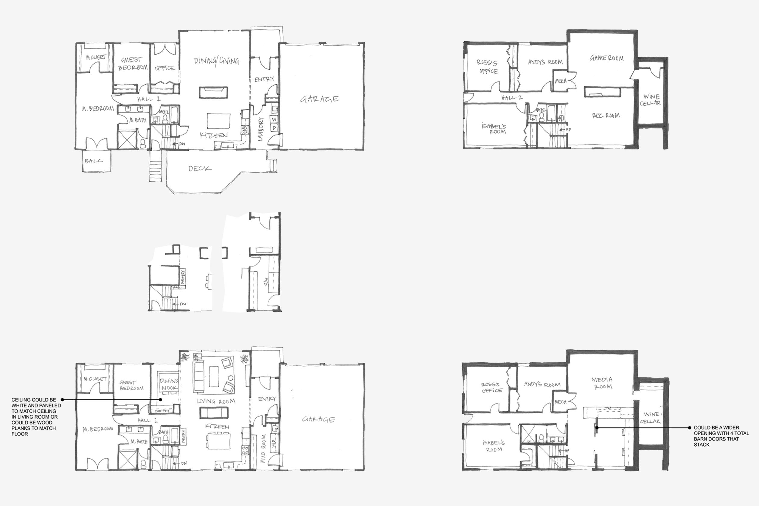 Woodinville Pivot Modern Interior Design Board Amp Vellum