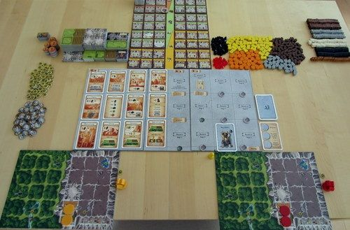 Caverna Two Player Game