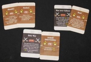 Wars and Agression Cards