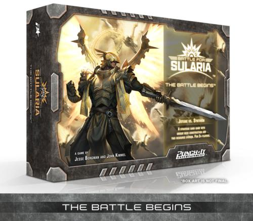 Battle for Sularia Board Game