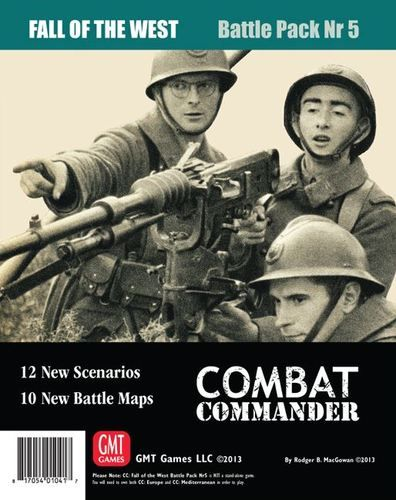 Combat Commander Battle Pack 5 - The Fall Of The West