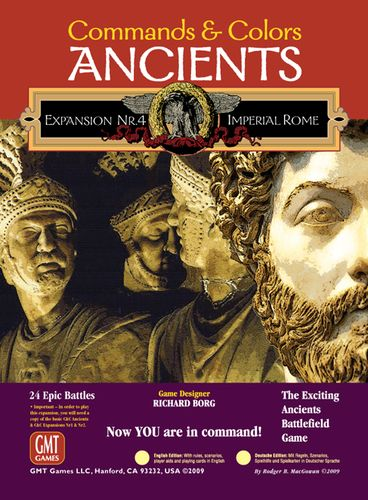Commands and Colors: Ancients Expansion Pack 4 – Imperial Rome