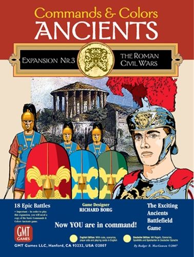 Commands and Colors: Ancients Expansion Pack 3 – The Roman Civil Wars