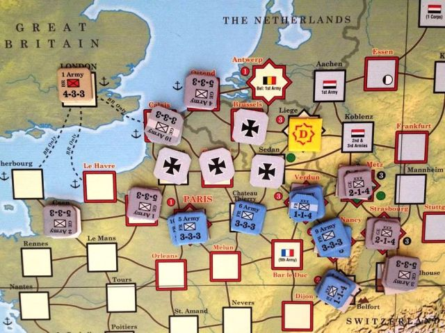 Paths of Glory German Forces in Northern France