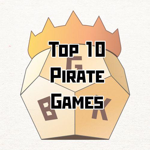 Top 10 Pirate Board Games