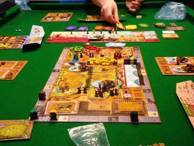 Dungeon Petz - Game Board