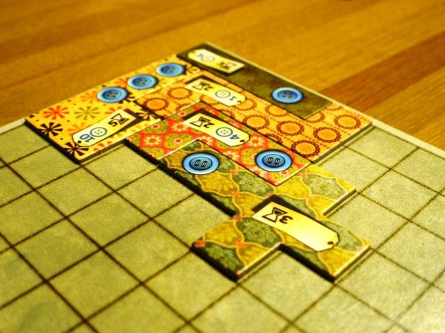 Patchwork - beginning of the game
