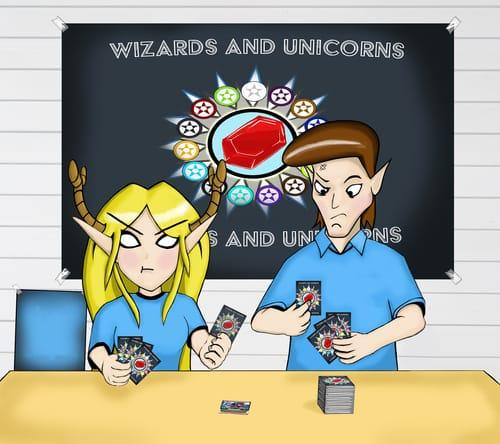 wizards and unicorns