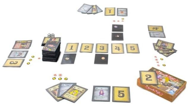 baaar fight - card game