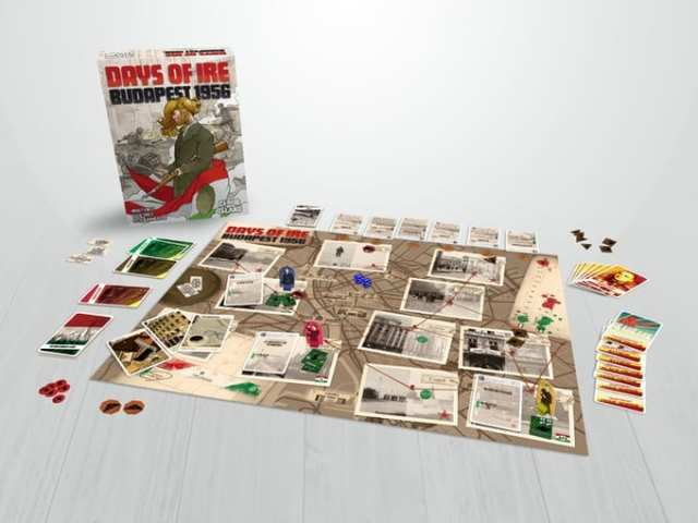 Days of Ire: Budapest 1956 - board game