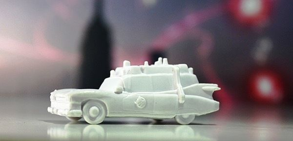 Ghostbusters The Board game - Ecto-1 Miniature