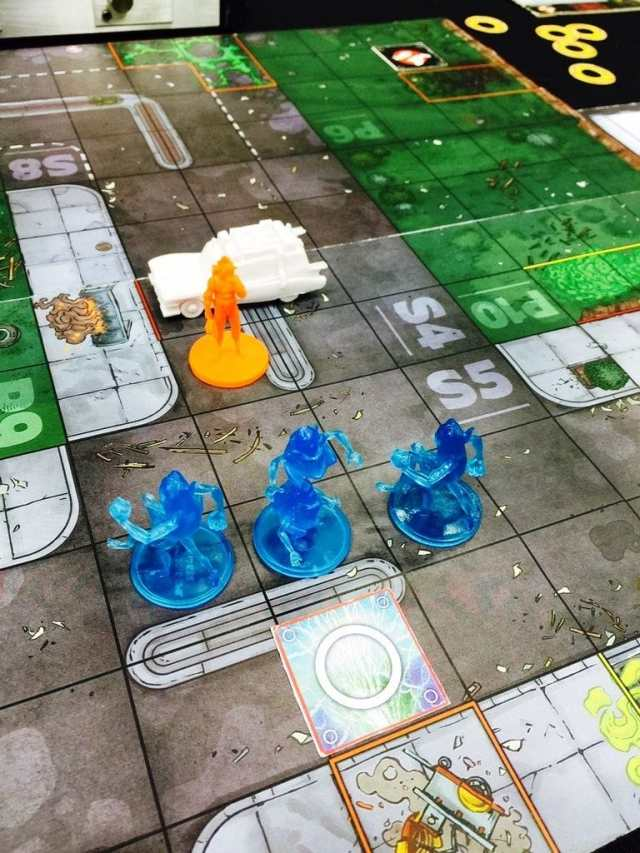 Ghostbusters The Board game - Game Situation
