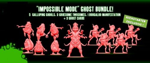 Ghostbusters The Board game - Impossible Mode Ghosts