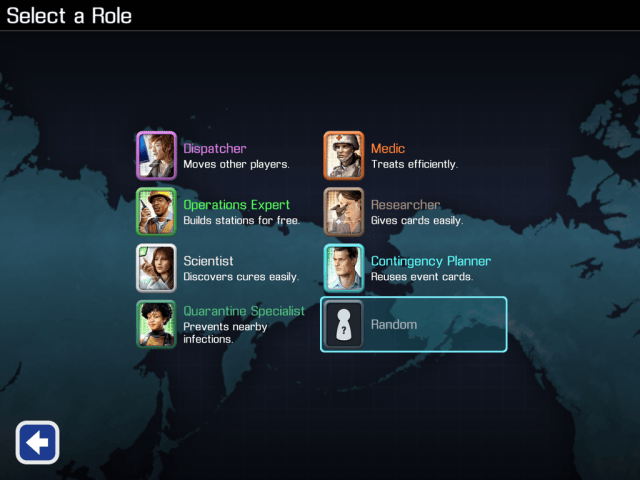 Pandemic iOS - Roles