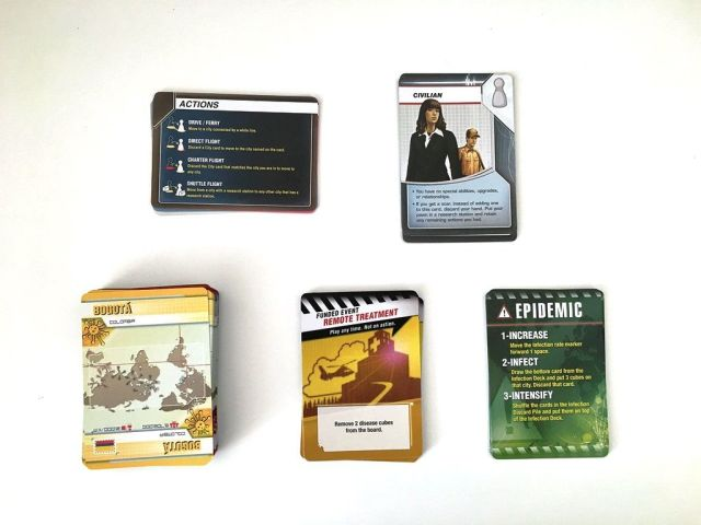 Pandemic Legacy - Various Player Cards