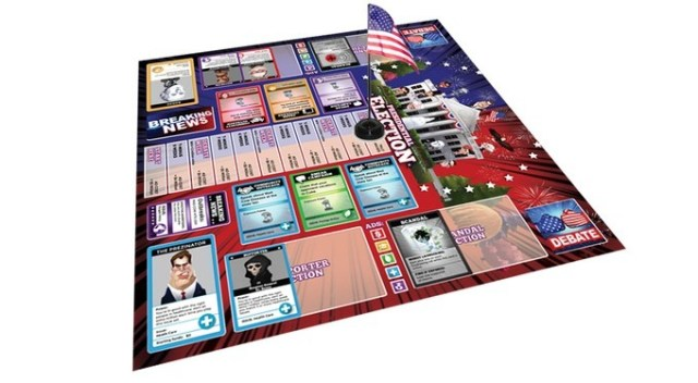 presidential election - board game