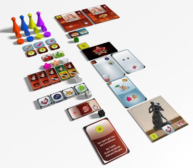 the gallerist components