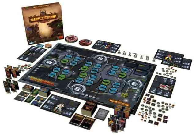 war titans - board game