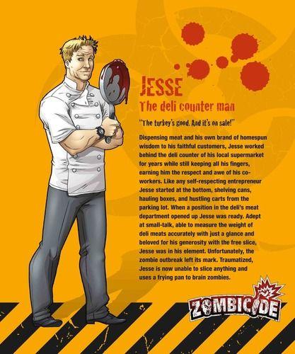 Zombicide Survivor Jesse