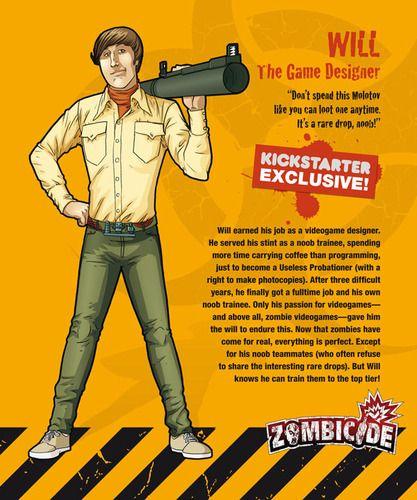 Zombicide Survivor Will